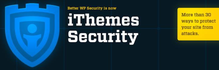 An image of iThemes Security's logo